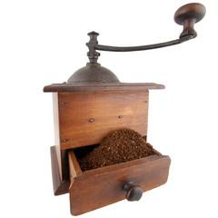Moulin à café traditionnel
