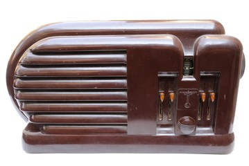 Old Vintage Wood Radio