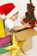 Weihnachtssachen auspacken