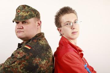 Bundeswehr oder Zivildienst