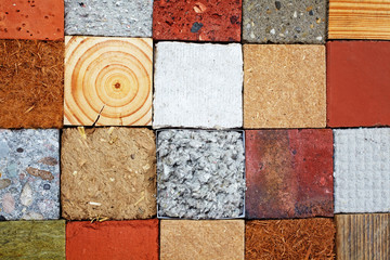 some materials used in eco buildings