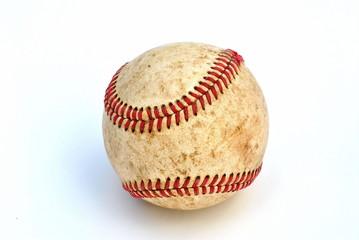 Closeup Image of a Baseball