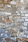 Brick and Stone Wall Background