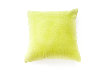 Bed pillow isolated on the white background
