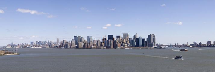 Manhattan et la baie Hudson