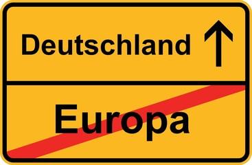 Deutschland - Europa