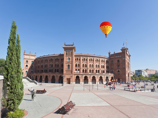 Famous bullfighting arena - Plaza de Toros in Madrid