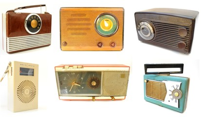 Array of Vintage Radios
