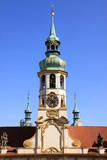 Deail of Prague baroque pilgrimage Complex Loreta poster