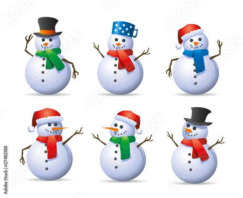 snowman set - 27482188