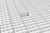 Lego background w poster