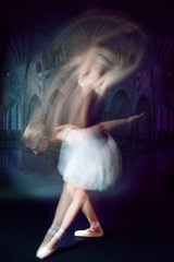 ballet dancer shoot in motion