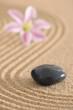 zen garten stein