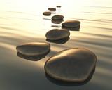 Fototapety step stones