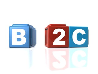 Connecting B2C Business-to-Customers with building blocks
