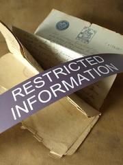 Restringida información