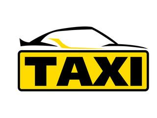Sportliches Taxi Logo
