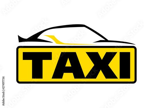 sportliches taxi logo fichier vectoriel libre de droits sur la banque d 39 images. Black Bedroom Furniture Sets. Home Design Ideas