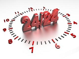 service 24 heures sur 24