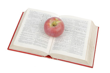 Apple and dictionary