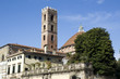 View on the romanesque San Giovanni church, Lucca - Italy