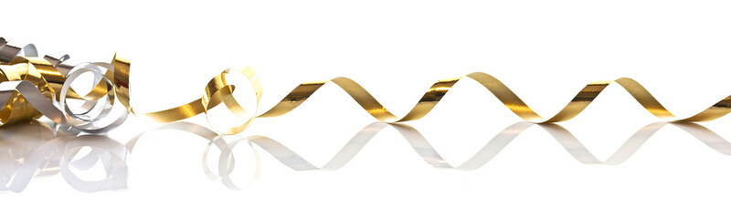 Long ruban doré