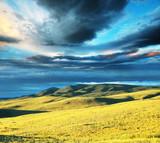 Fototapeta chmury - zachmurzony - Góry