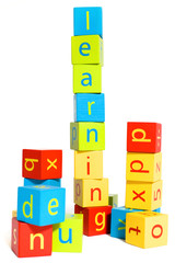 Early Learning - Building Blocks Spelling Learning