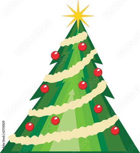 Arbol de navidad de honeyboy martin vector libre de for Cesta arbol navidad