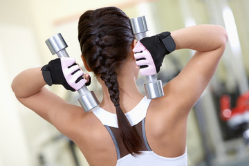 Exercise with barbells