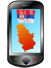 Connection with Serbia
