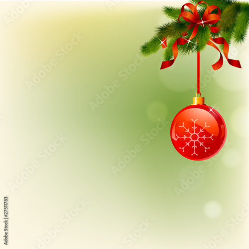 dream christmas tree with balls billon