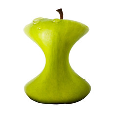 "A ""slim"" apple (diet concept)"
