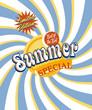 Summer special flyer