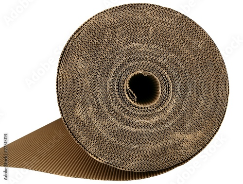 cardboard packing texture carton in brown