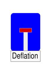 Sackgassedeflation