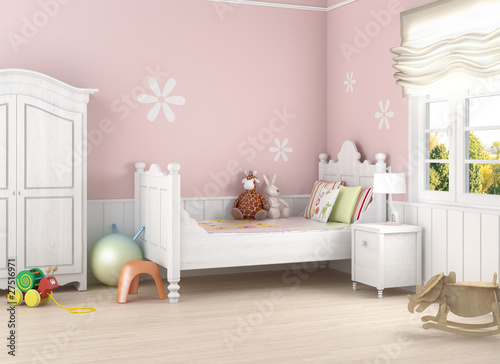 pink girl´s room