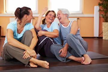 Spaß im Fitnesscenter
