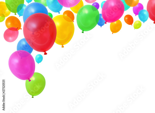 Colorful balloons - 27520531