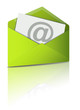 Reflecting Email Icon