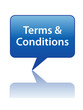 TERMS & CONDITIONS Speech Bubble (legal use and contract button)