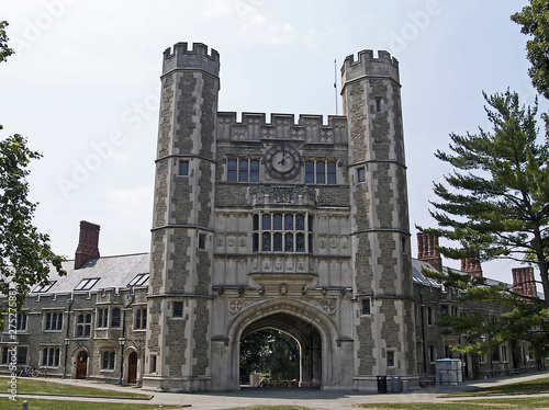 Princeton University, an Ivy League school