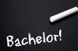 Tafel mit Bachelor