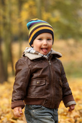 Autumn baby boy