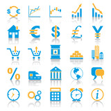Exchange Marketplace Icons poster