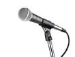 Leinwandbild Motiv Microphone