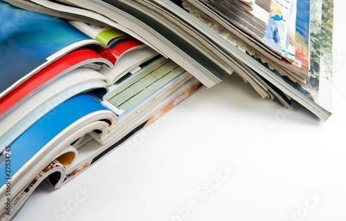 detalle de revistas y libros Poster
