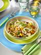 salade cuite et crue à l'orientale - mixed salad oriental