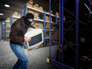 security in warehouse