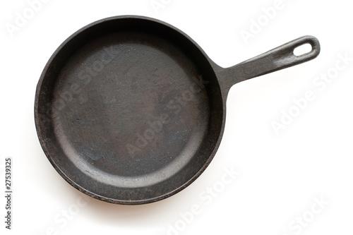 Leinwandbild Motiv Cast-iron frying pan